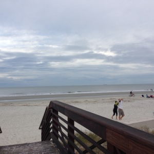 Another view of the beach.