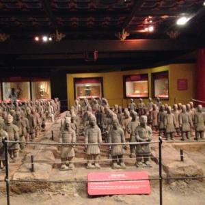 Terra Cotta Warriors display in the World Showcase (China).