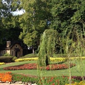 Victoria Gardens at World Showcase (Canada) in Epcot.