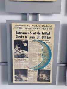 The Indianapolis News from July 21, 1969.