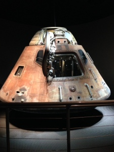 The Apollo Space Capsule.
