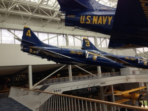Additional decommissioned Blue Angel planes.