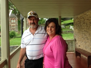 Dawn and Rick at Harpers Ferry.