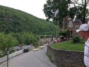 A view from Harpers Ferry Church.