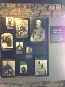 More than 23,000 were killed or wounded at Antietam, the bloodiest single-day battle in American history.  All of the people depicted here, whether military or civilian, experienced the personal tragedy of the conflict.